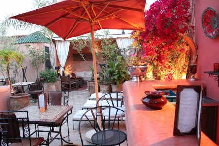 Riad jona roof terrace riad marrakech