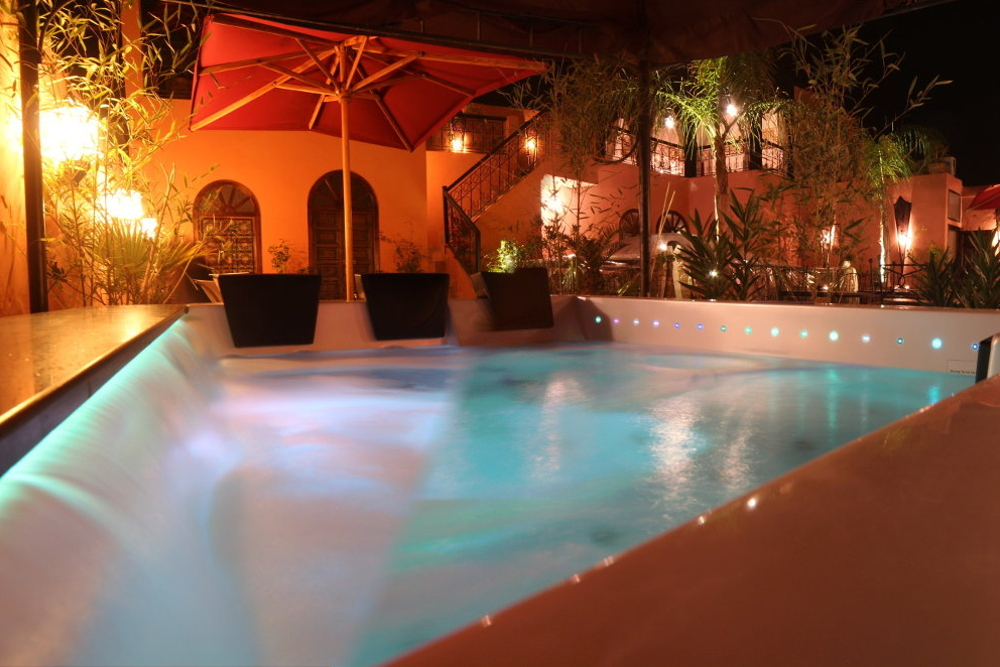 Jacuzzi under the Stars in Marrakech