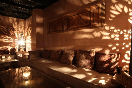 Riad Jona Marrakech light and shadows in calm Morocco